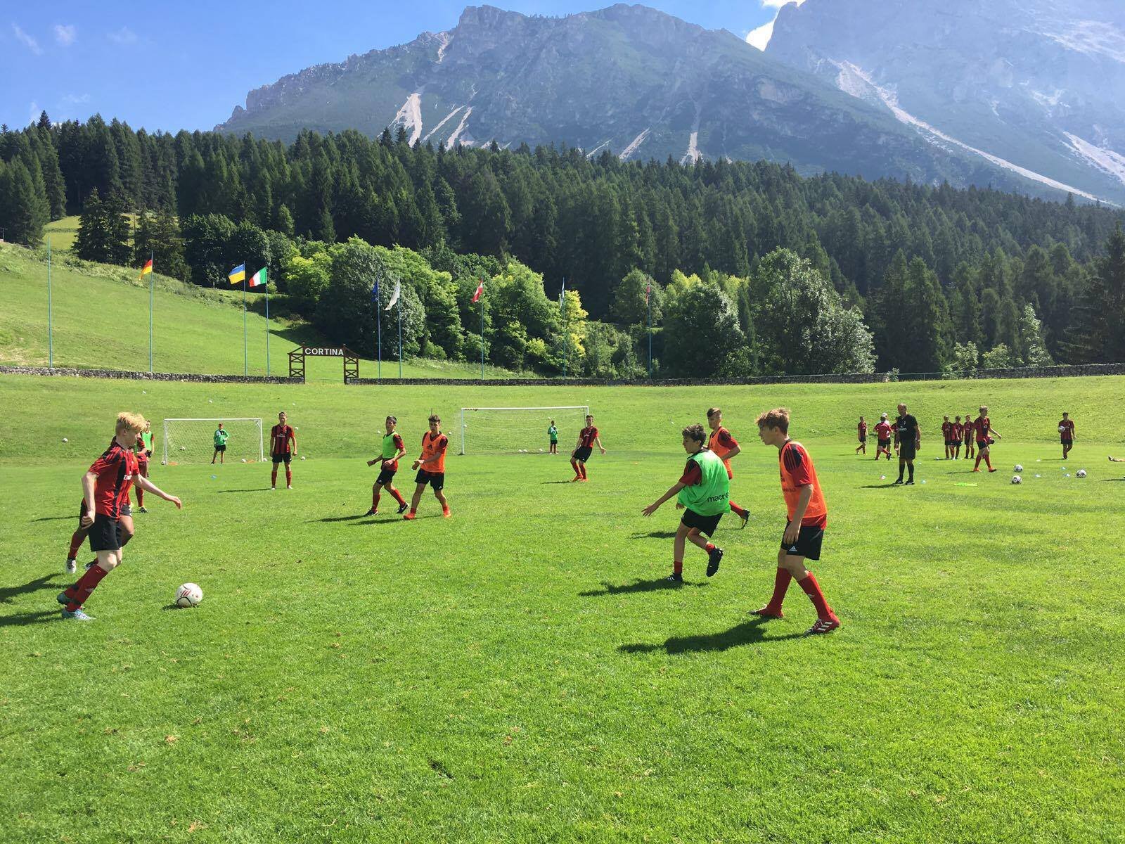 Summer Program - Soccer | Soccer Camps International