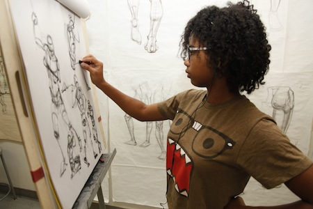 Summer Program - Fine Arts | Otis College of Art and Design: Summer of Art, College Preparation Program