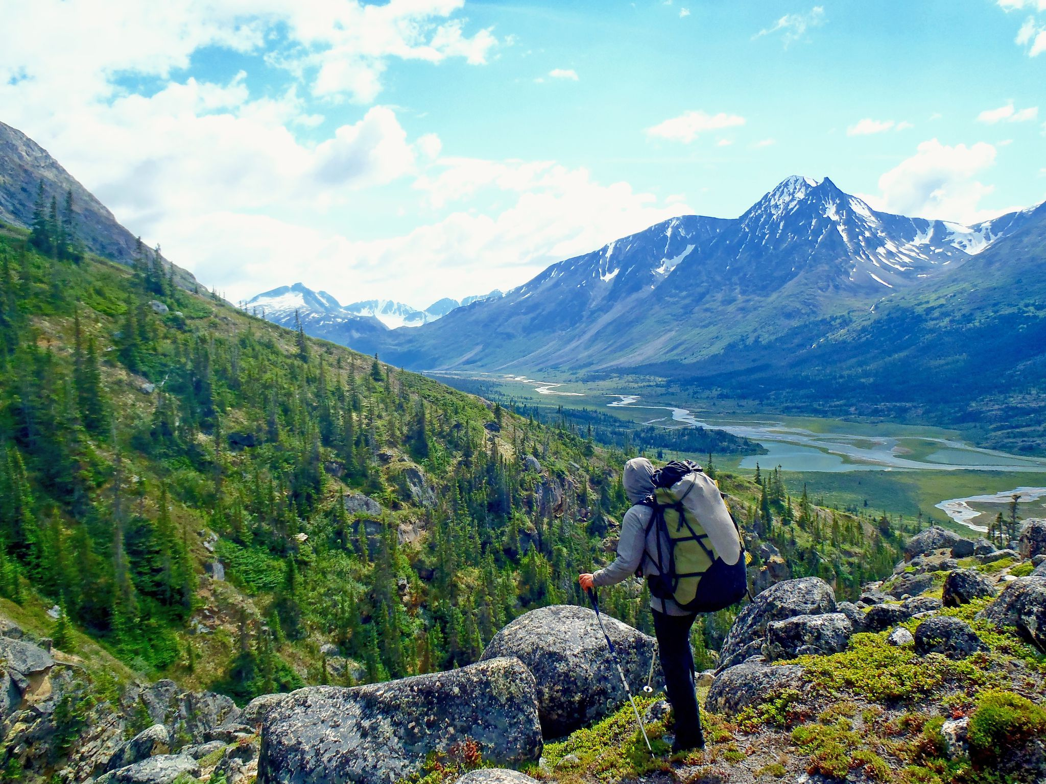Summer Program - Hiking | NOLS Summer Semester in the Yukon