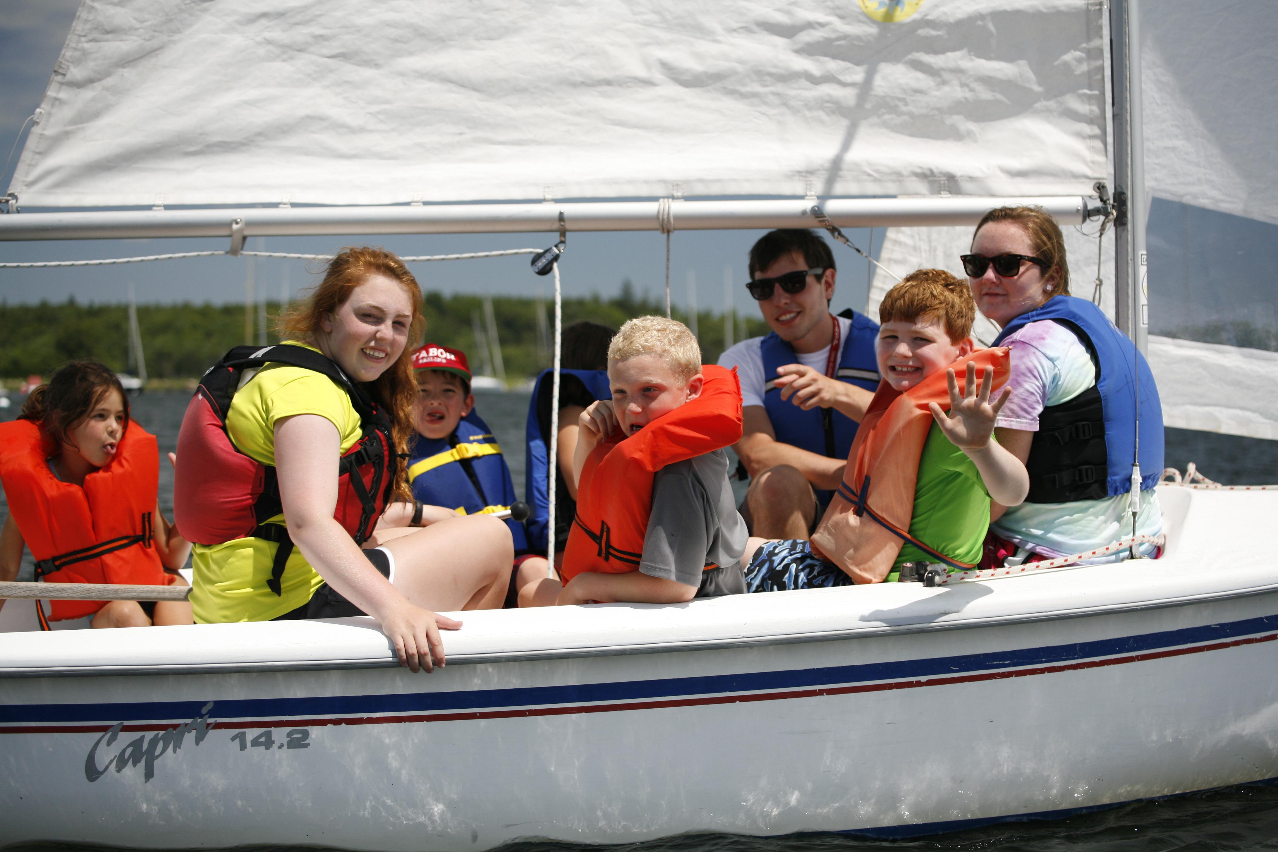 Summer Program - Sailing | Tabor Summer Camp