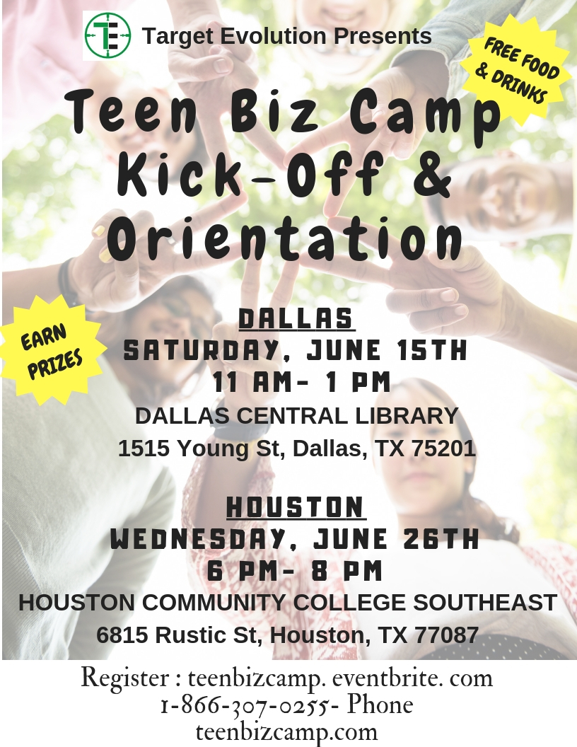 Summer Program - Management | Teen Biz Camp