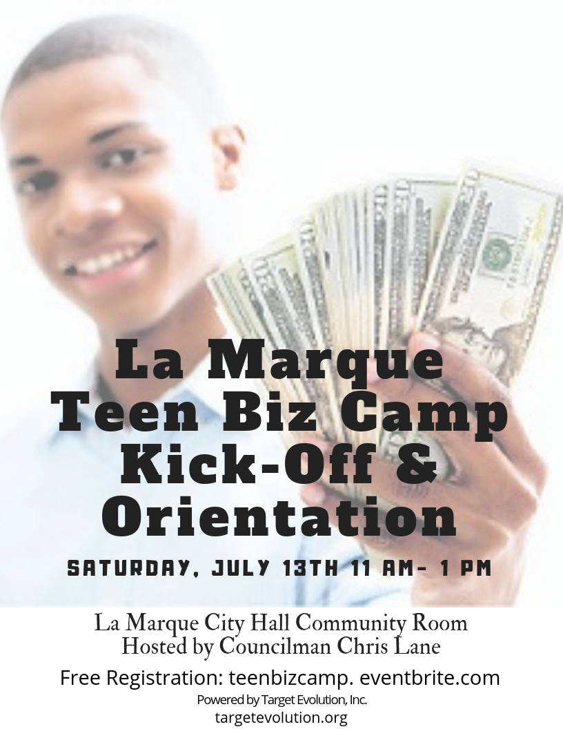 Summer Program - Business | Teen Biz Camp