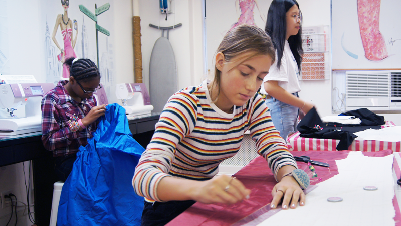 Summer Program - Fine Arts | Fashion Design & Sewing Summer Camp in NYC