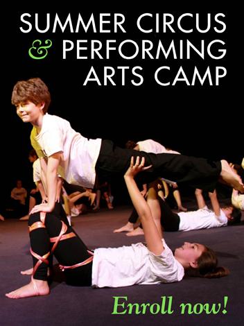 Summer Program - Circus Performing | The Actors Gymnasium Summer Camp