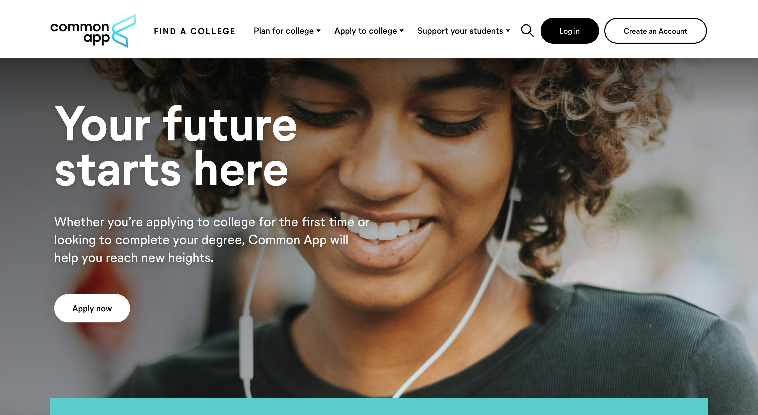 Business - College Application   Common App