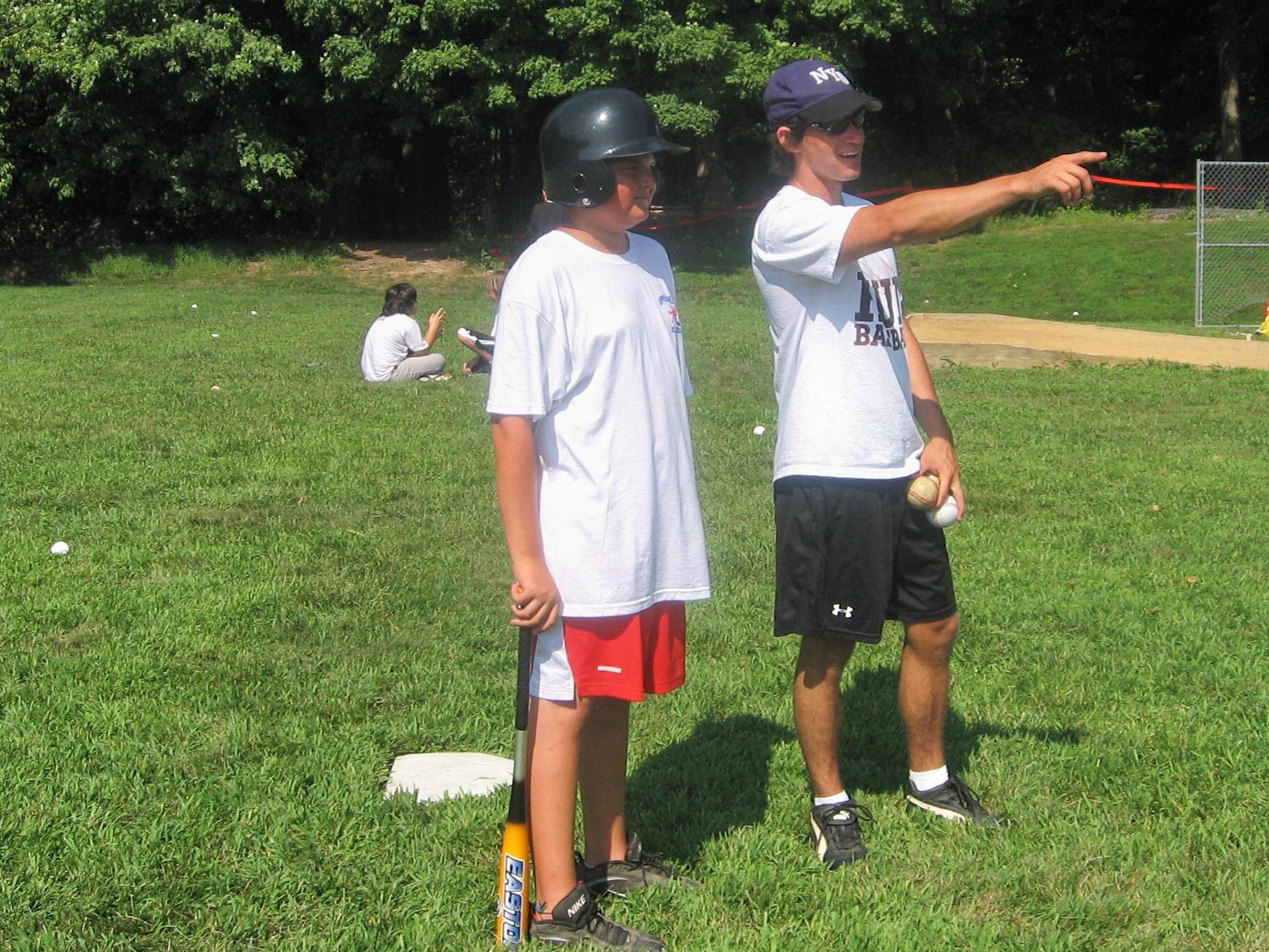 Summer Program - Baseball | The Hun School of Princeton Baseball Camps