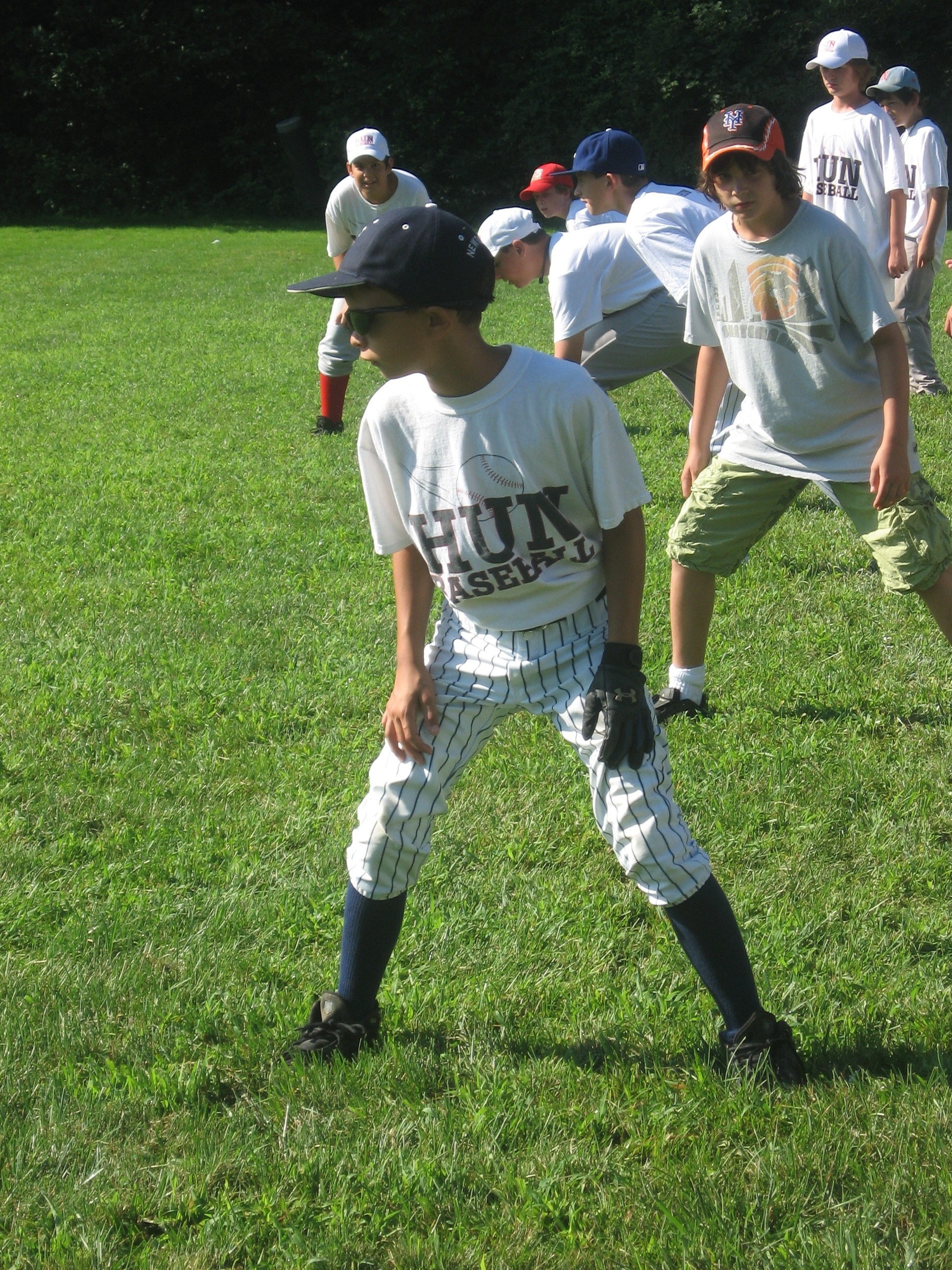 Summer Program - Baseball | The Hun School of Princeton Baseball Camps