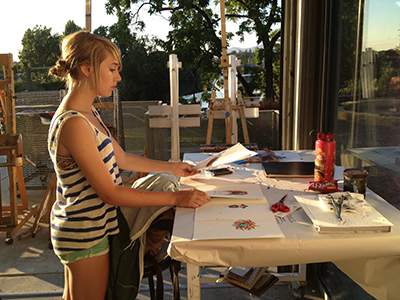 Summer Program - Filmmaking and Digital Media | Oxbow Summer Art Camp: Visual Arts Immersion Program