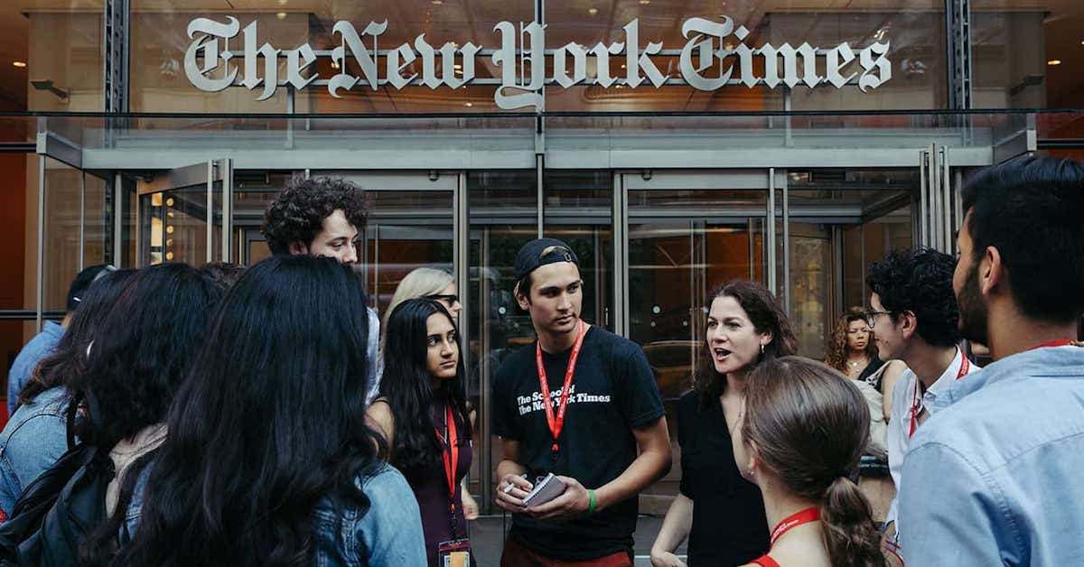 Summer Program - Writing | The School of The New York Times: The On-Camera Personality