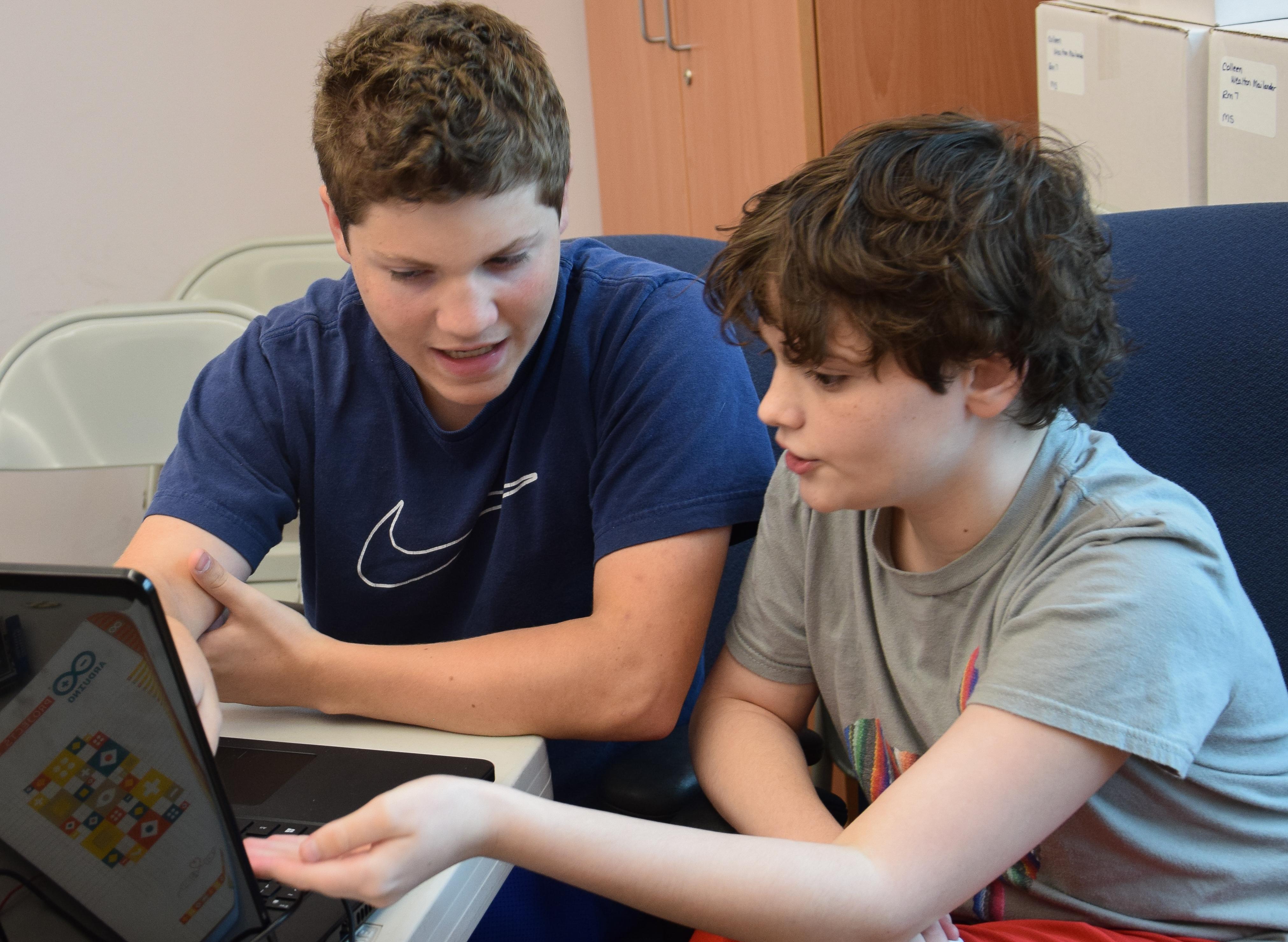 Summer Program - Computer Science | TIC Summer Camp: MD