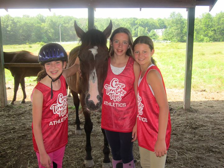 Summer Program - Horseback Riding | Camp Timber Tops for Girls