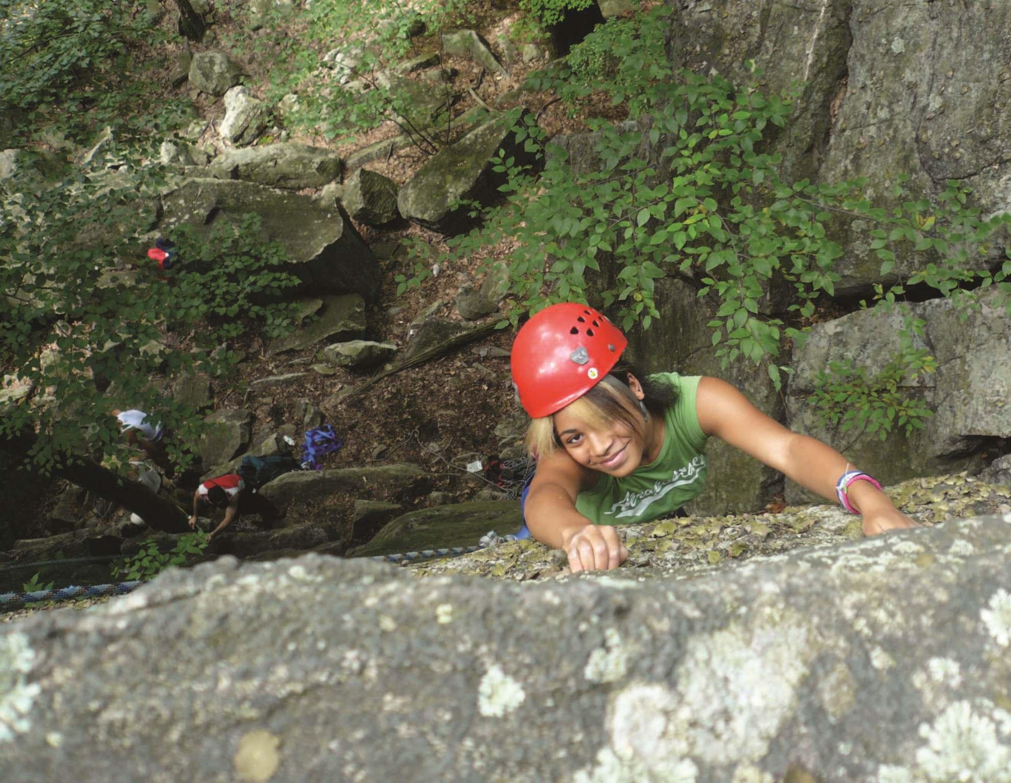 Summer Program - Rock Climbing | Trail Blazer Camps