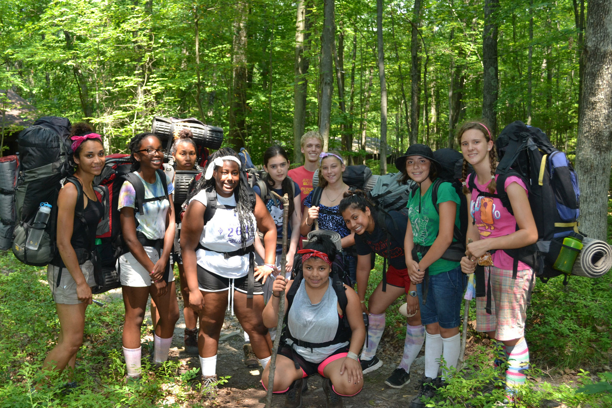 Summer Program - Rock Climbing | Trail Blazer Camps