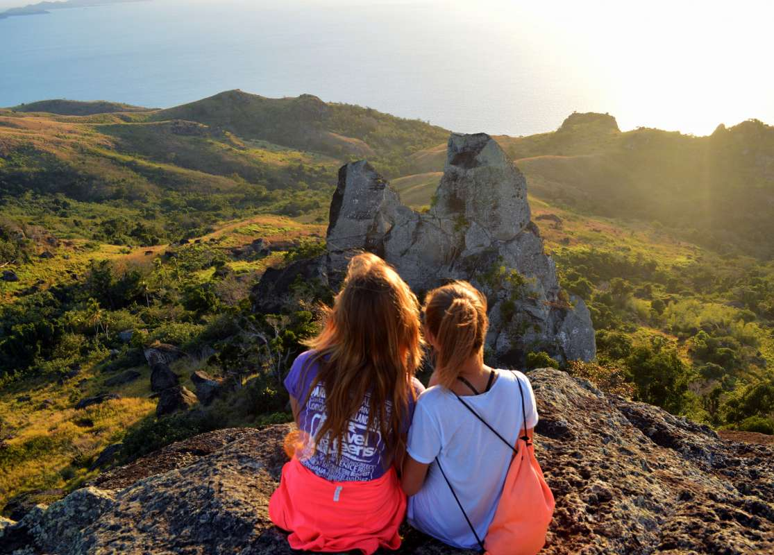Summer Program - International Relief | Travel For Teens: Fiji Service and Adventure