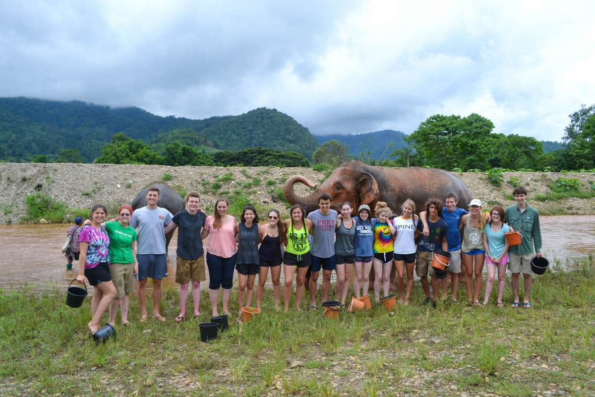 Summer Program - Animal Rights and Rescue | Travel For Teens: Thailand Elephant Service and Explorers
