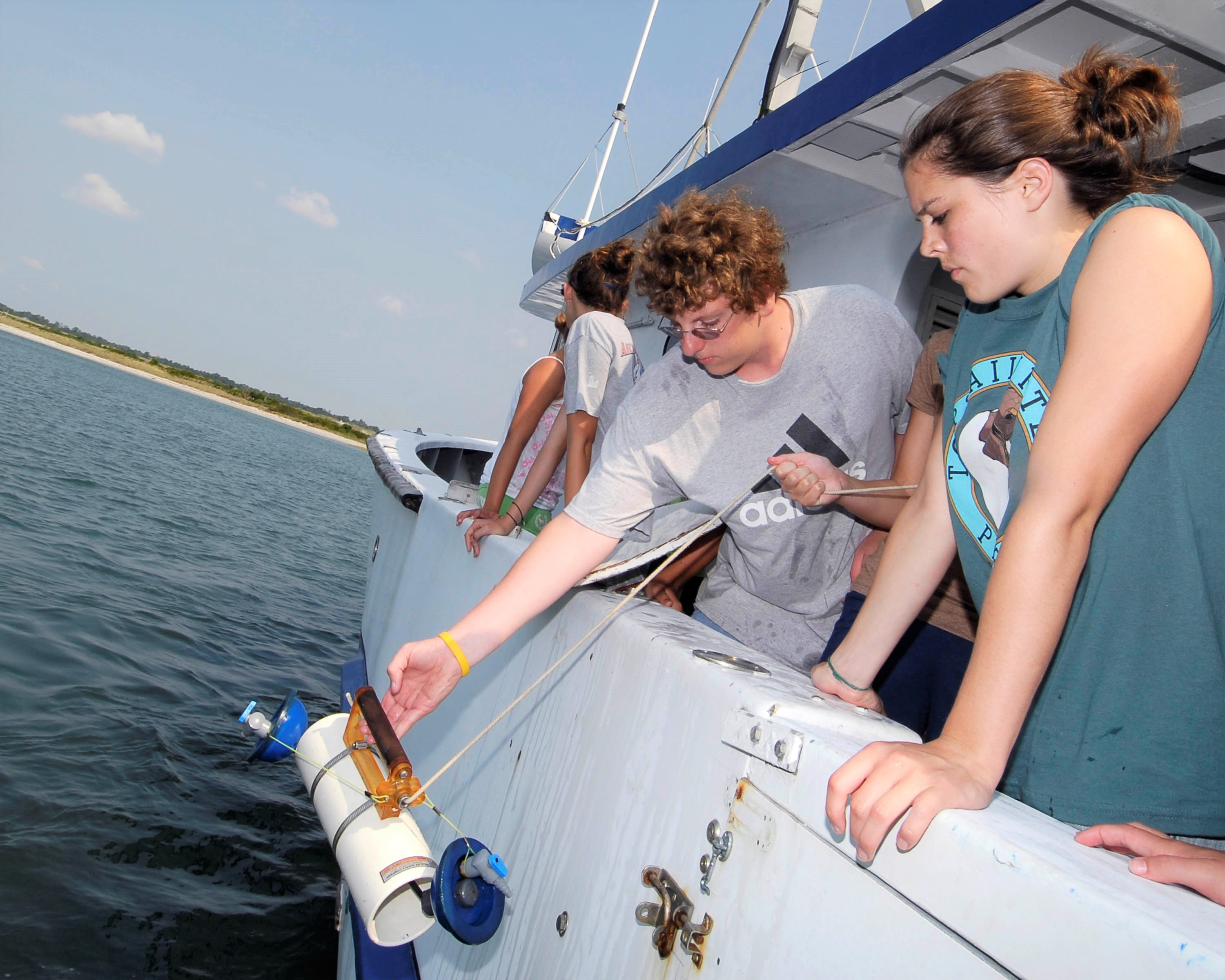 Summer Program - Marine Biology | UNC Wilmington MarineQuest Summer Programs