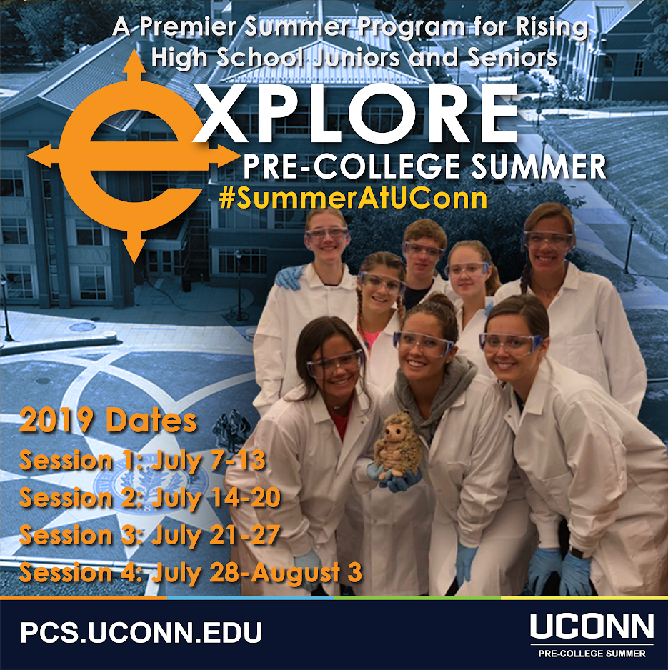 Summer Program - College Experience | UConn Pre-College Summer