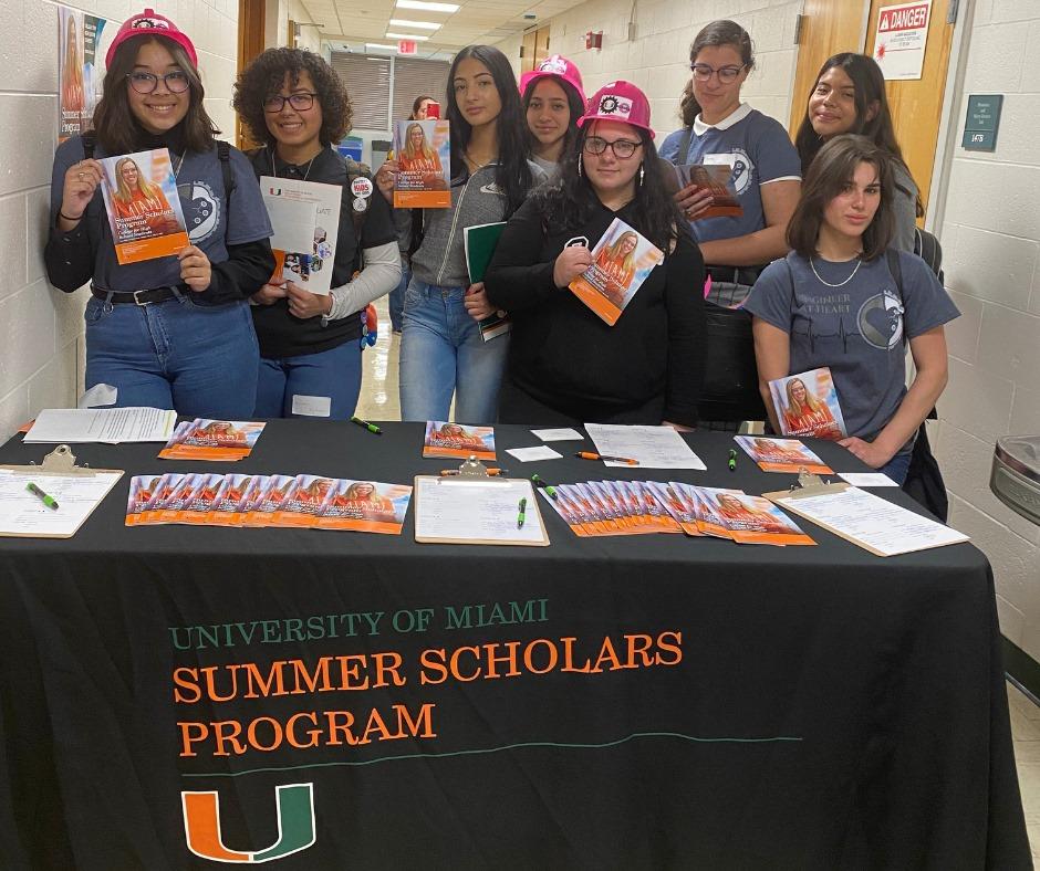 Summer Program - College Courses   University of Miami Summer Scholars Program