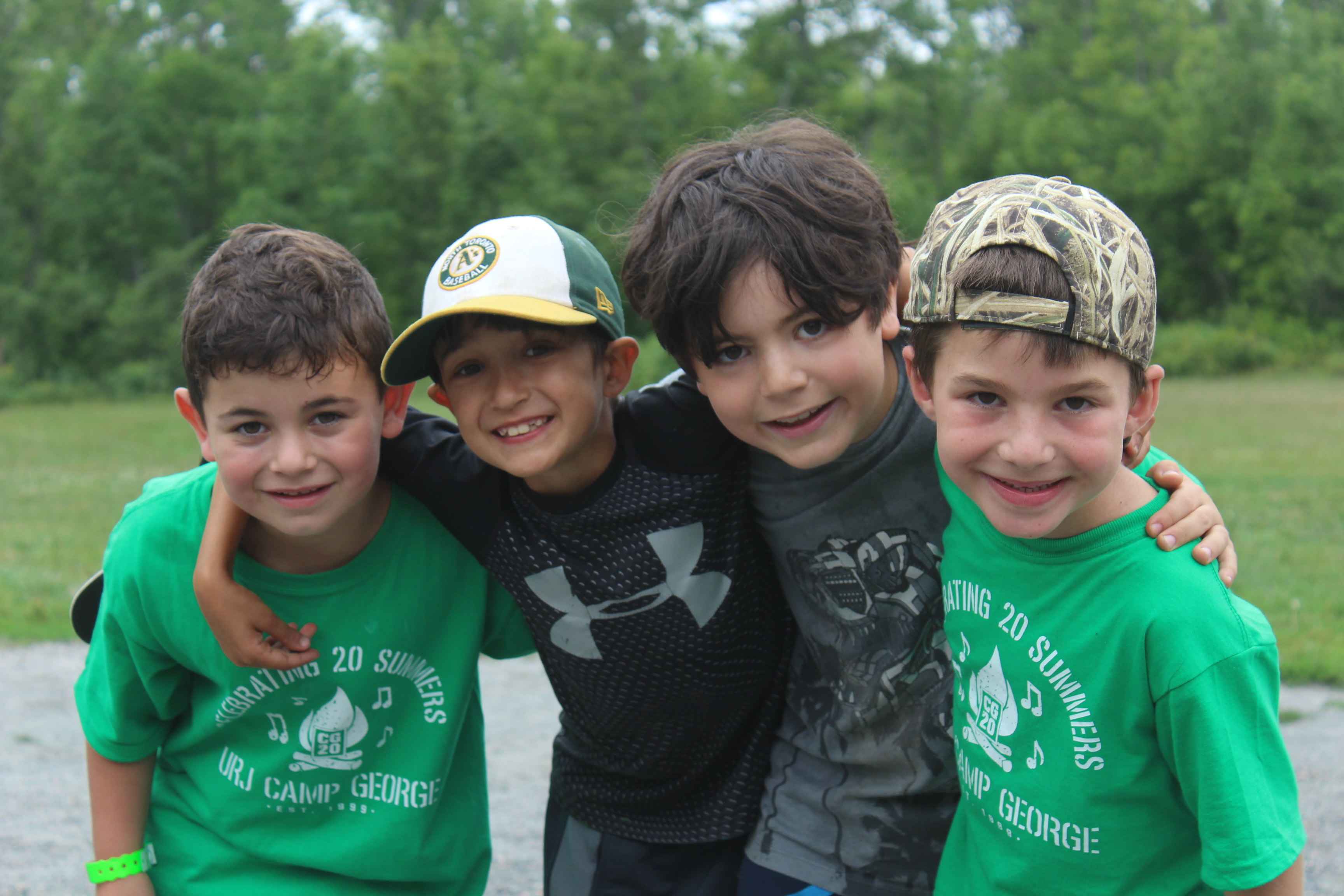 Summer Program - Jewish Culture | URJ Camp George