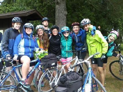 Summer Program - Biking | URJ Tour La'Agam Teen Bike Tour
