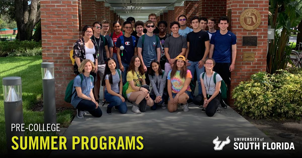 Summer Program - STEM | University of South Florida Pre-College: Summer Programs for High School Students