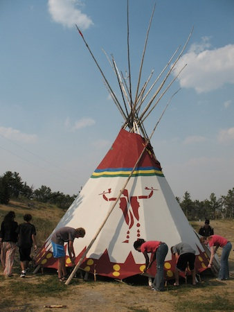 Summer Program - Preserving the Environment | VISIONS Montana Blackfeet High School Service Program