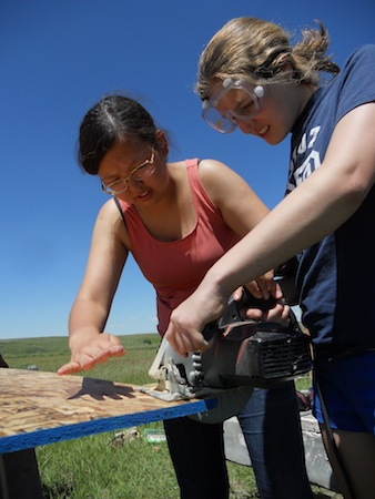 Summer Program - Community Center | VISIONS Montana Blackfeet High School Service Program