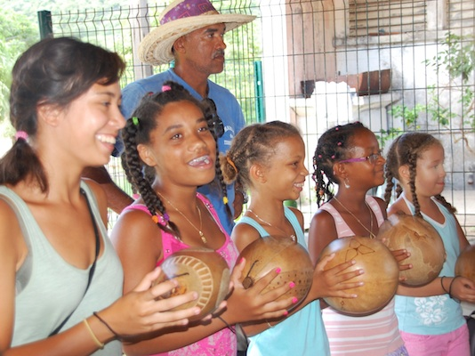 Summer Program - International Relief | VISIONS Guadeloupe Service-Based Travel Programs for Groups