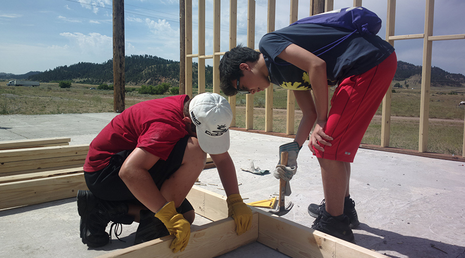 Summer Program - Community Center | VISIONS Montana Northern Cheyenne High School Service Program
