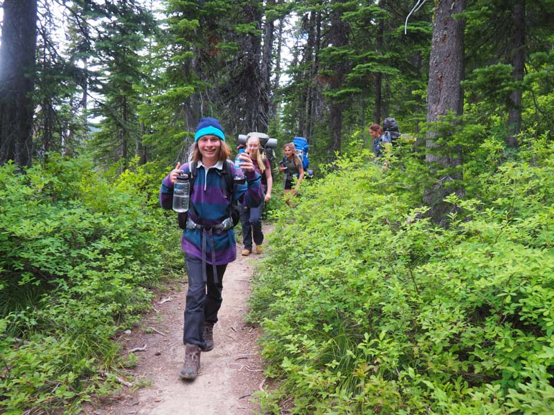 Summer Program - Adventure/Trips | VISIONS Montana Summer High School Service Program