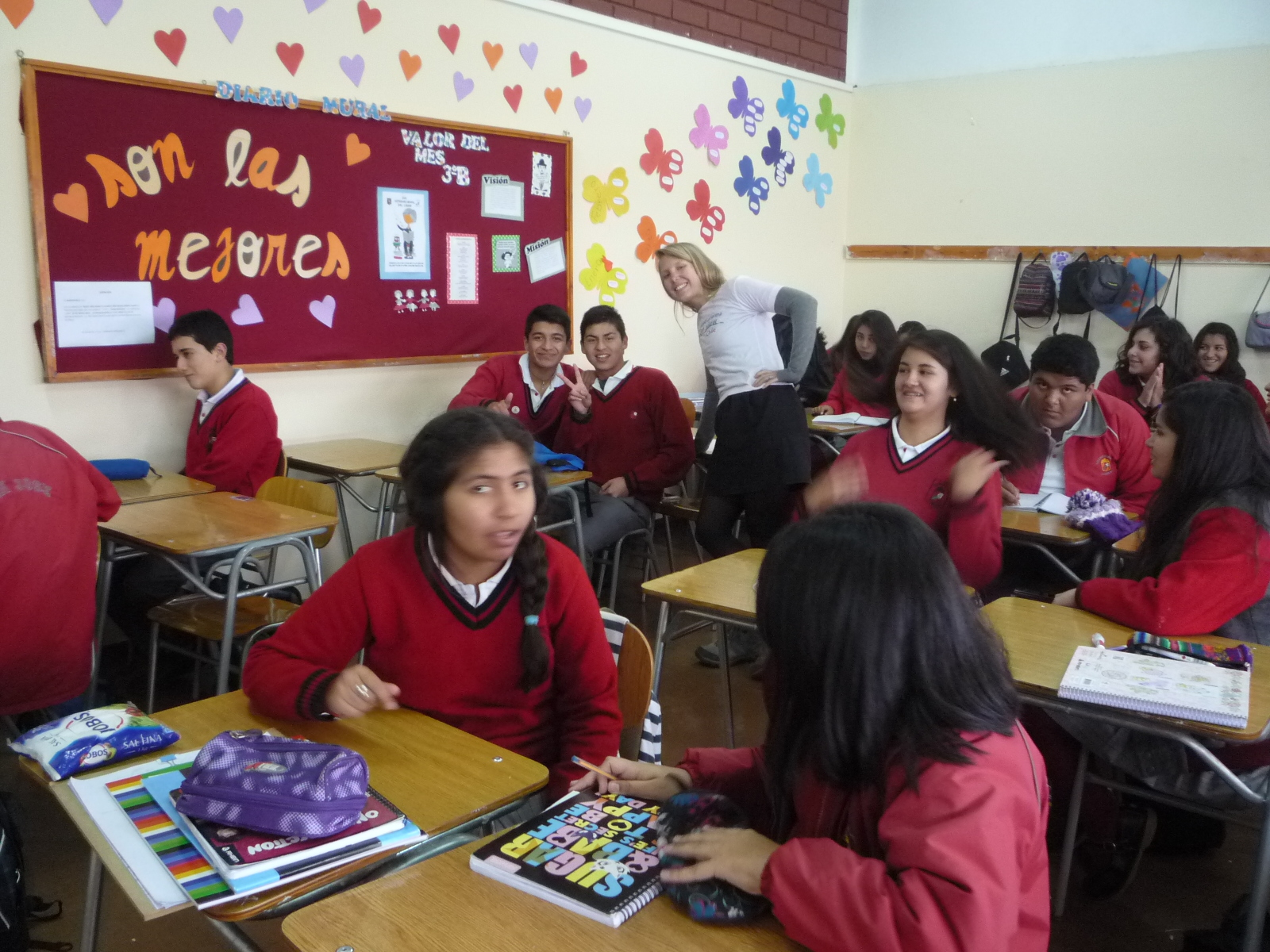 Gap Year Program - Volunteer Abroad in CHILE - Orphanage, Teaching, Elderly Care and Immersion with A Broader View Volunteers  2