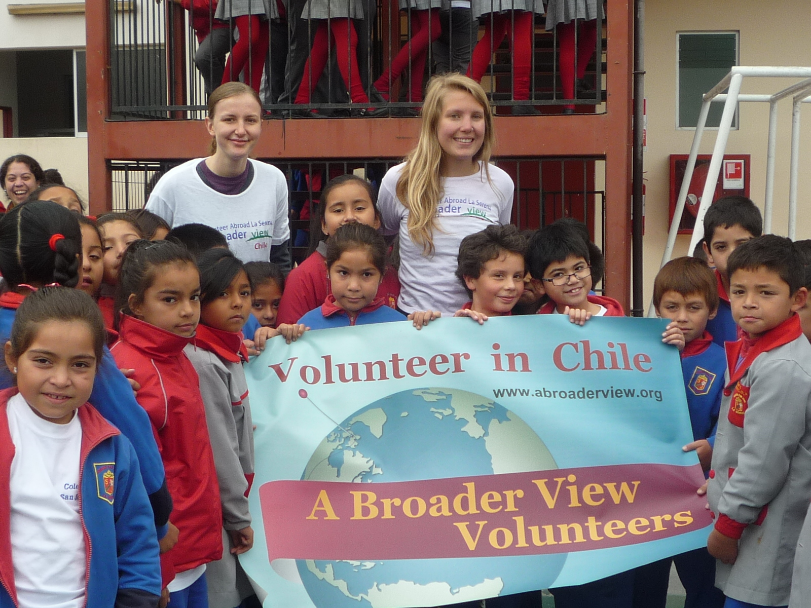 Gap Year Program - Volunteer Abroad in CHILE - Orphanage, Teaching, Elderly Care and Immersion with A Broader View Volunteers  1