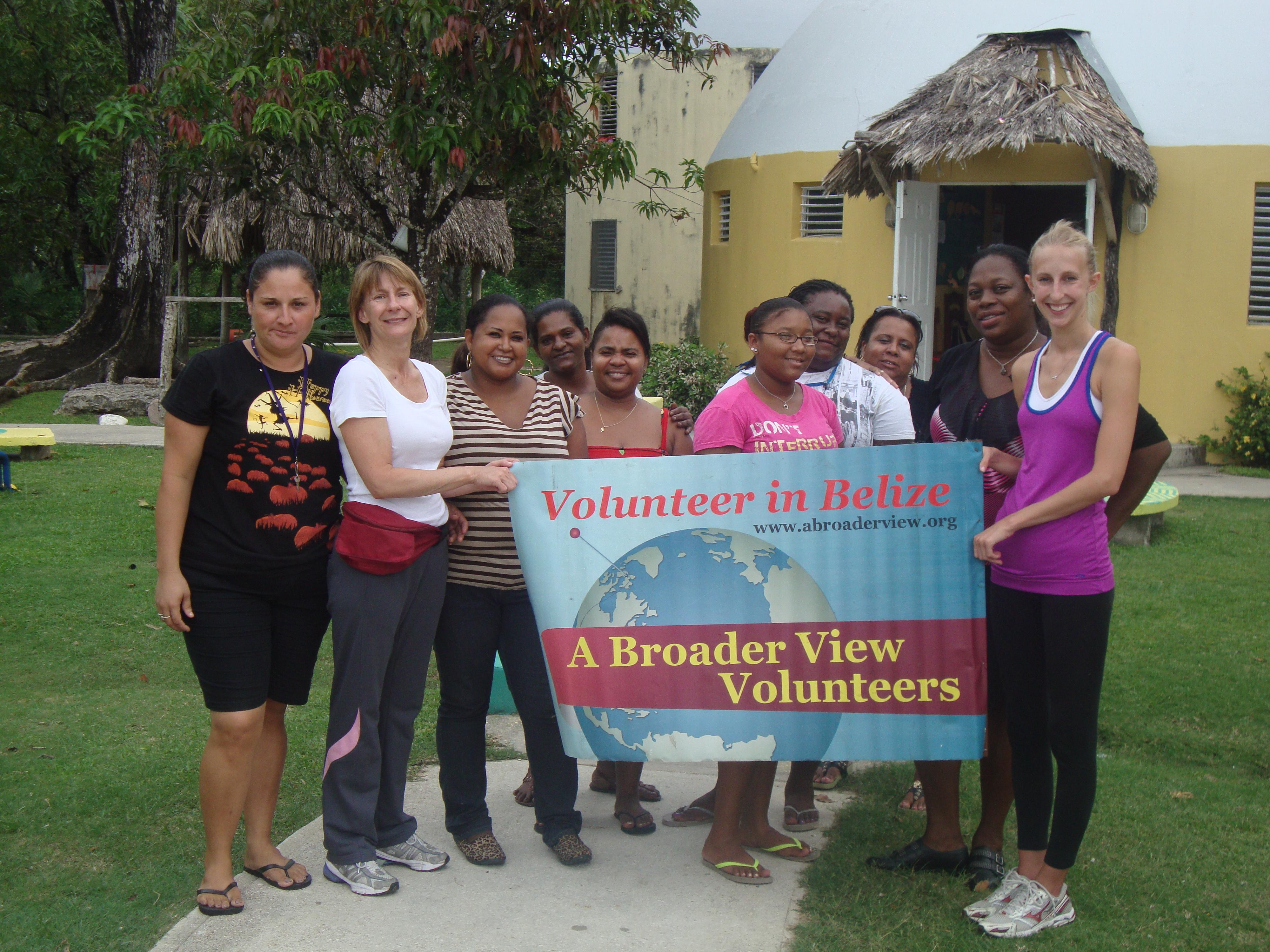 Summer Program - Community Service | Volunteer in BELIZE - Orphanage and Teaching Program with A Broader View Volunteers