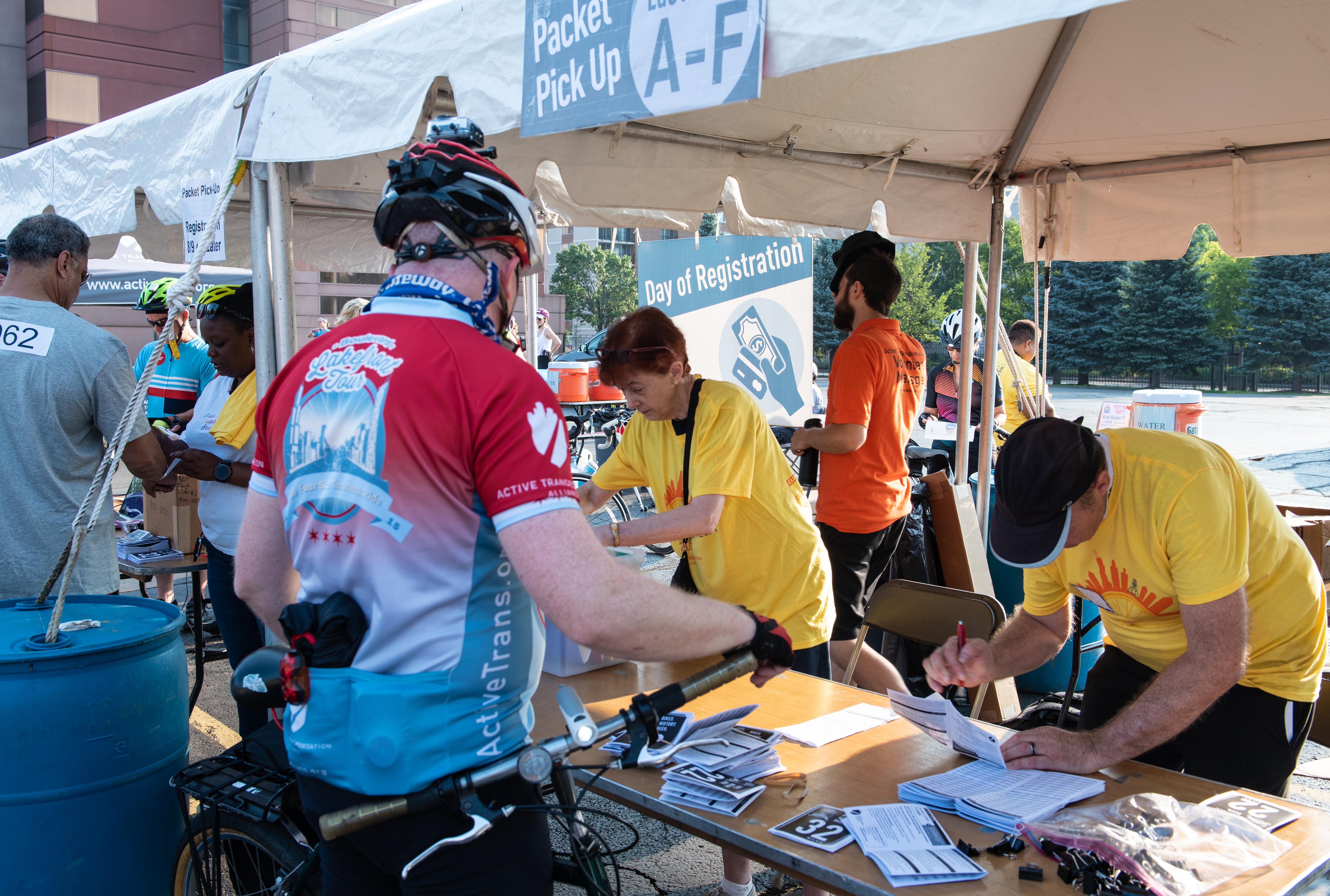 Community Service Organization - Volunteer for Boulevard Lakefront Tour bike ride!  2