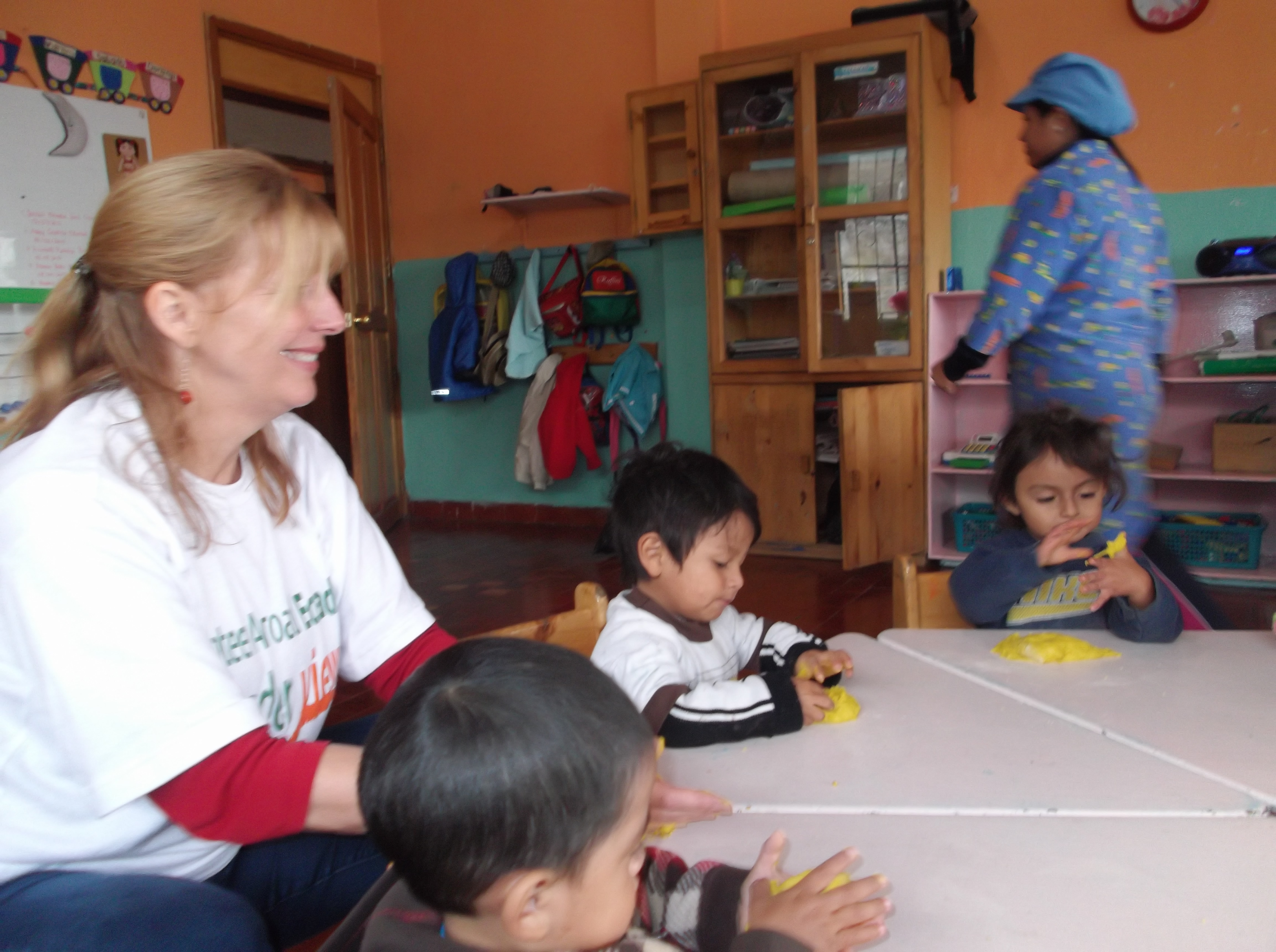 Gap Year Program - Volunteer in ECUADOR QUITO  - Orphanage, Teaching, Hippotherapy and PreMed Program with A Broader View Volunteers  3