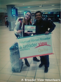 Gap Year Program - Volunteer in ECUADOR QUITO  - Orphanage, Teaching, Hippotherapy and PreMed Program with A Broader View Volunteers  5