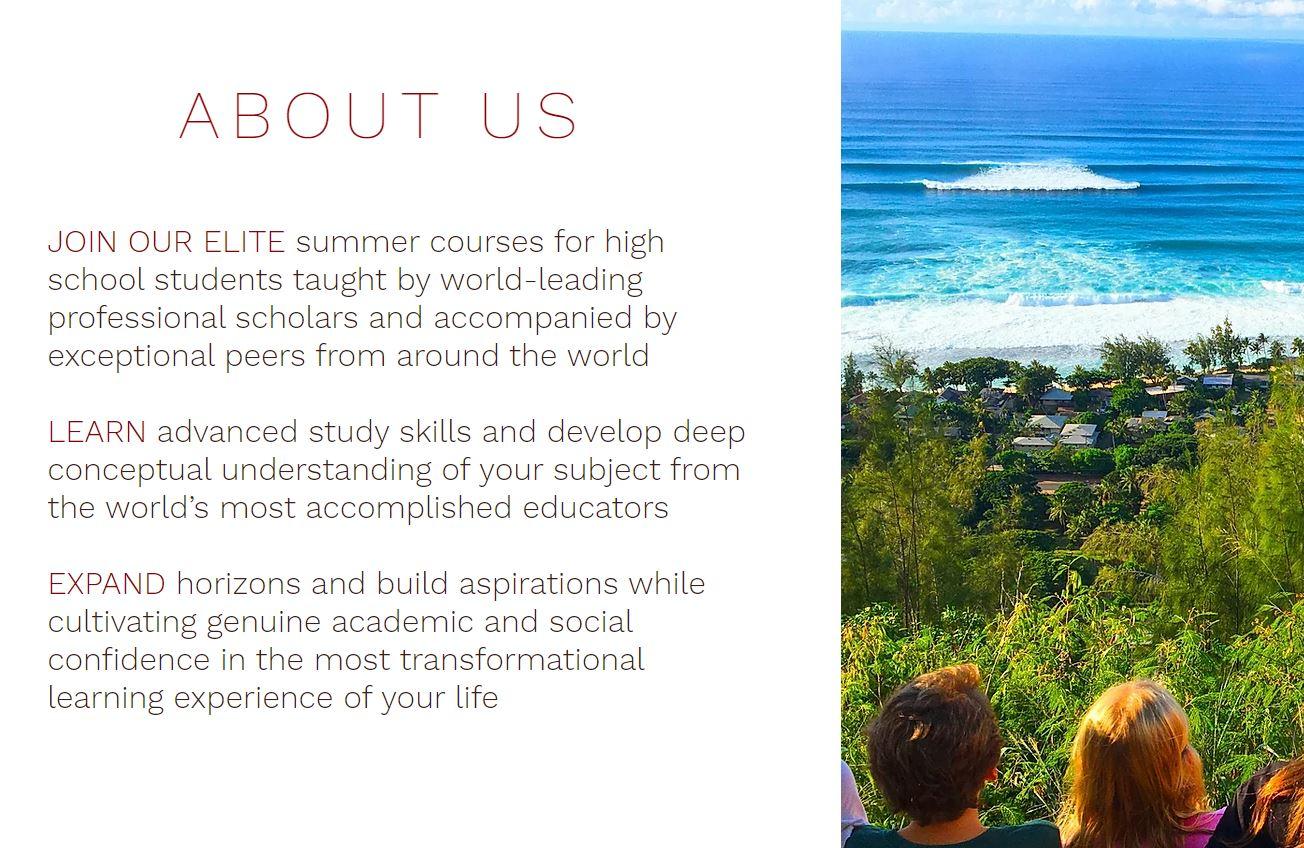 Summer Program - Gifted | World Scholars Academy | World Business Academy Online