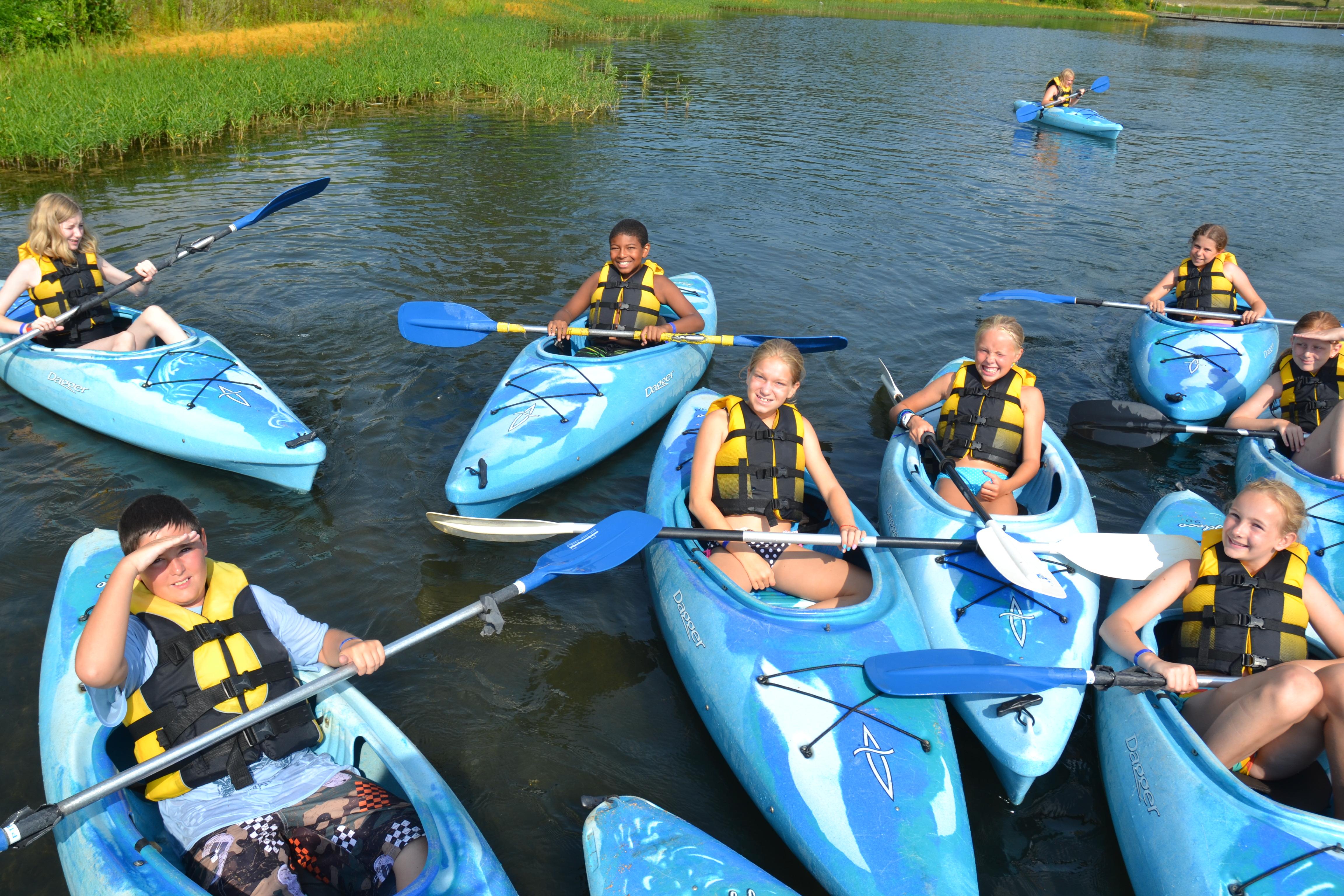 Summer Program - Canoeing | YMCA Camp Lakewood - Overnight Summer Programs